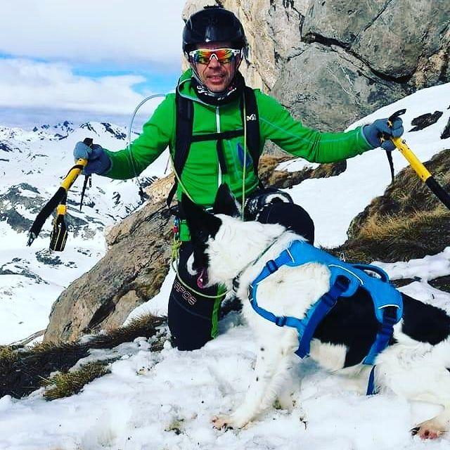 invernal con perros canyoncan